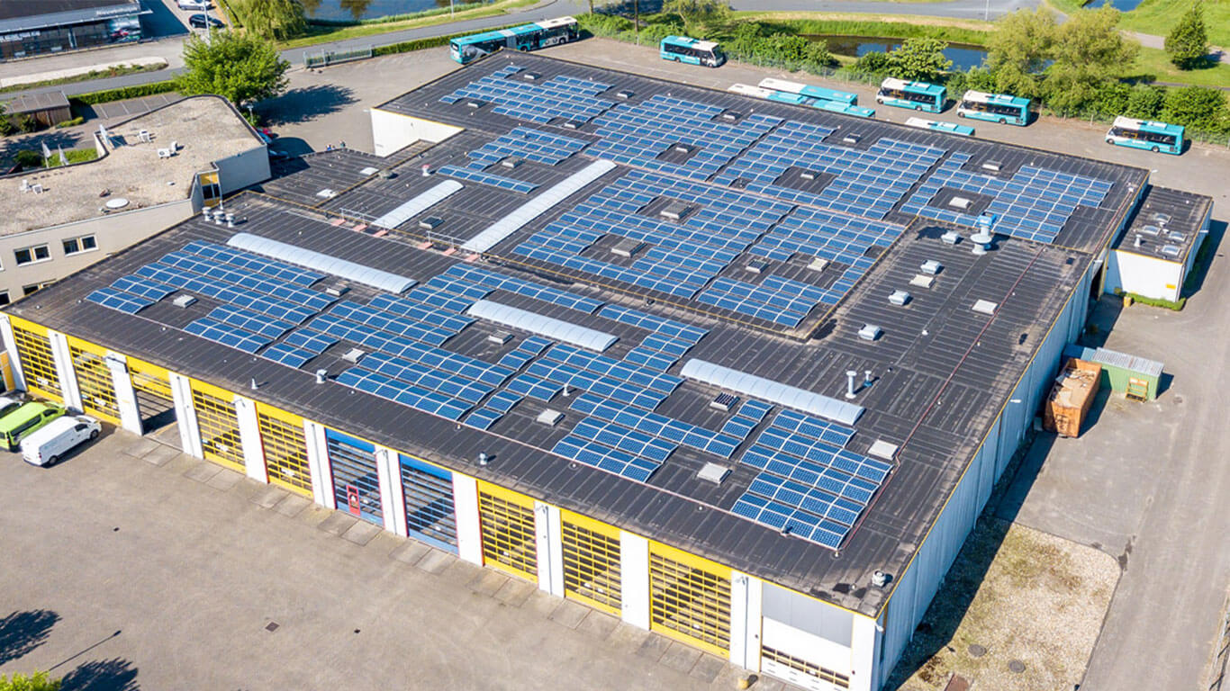 SDE zonnepanelen bedrijfspand